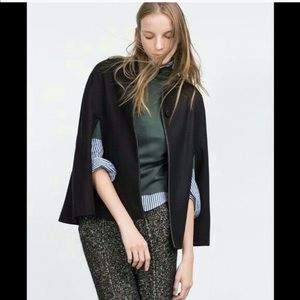 Zara | Wool cape